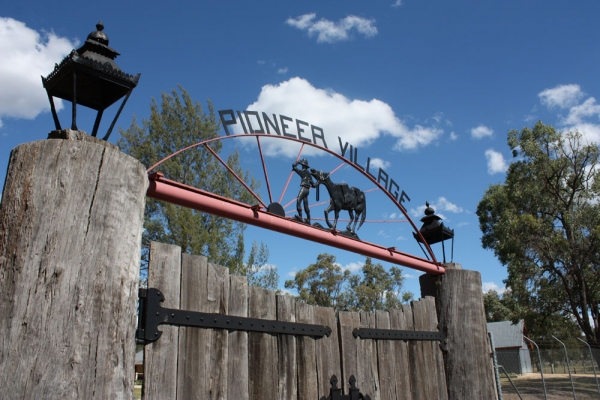 Inverell Pioneer Village Gates