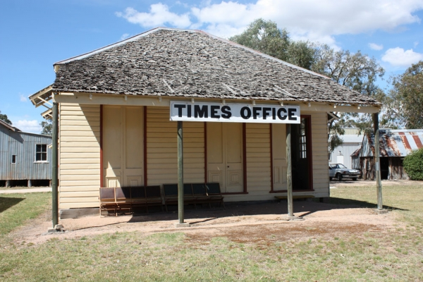 "The Printery - The Old ""Times"" Office"